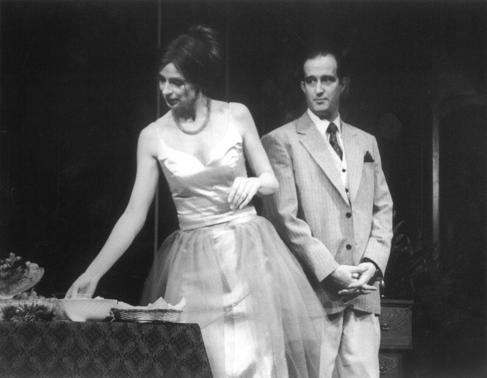 Luigi Chiarelli: MASKA A TVÁŘ. Ivana Chýlková, Jaromír Dulava  foto: Yvona Odrazilová