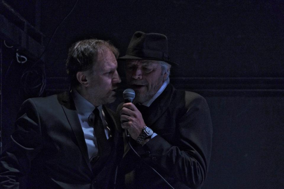 F. M. Dostojevskij: BRATŘI KARAMAZOVI. Martin Finger, Juraj Kukura  foto: Oleg Vojtíšek