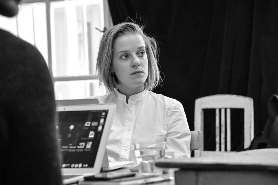Sarah Page: K.Š.E.F.T. - první čtená zkouška. Sandra Černodrinská